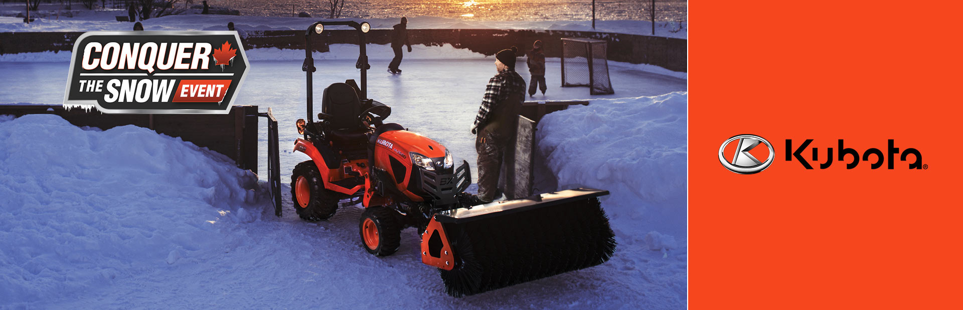 Kubota: Conquer the Snow Event