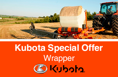 Kubota Special Offer - Wrappers