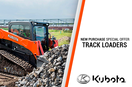NEW PURCHASE SPECIAL OFFERS-TRACK LOADERS