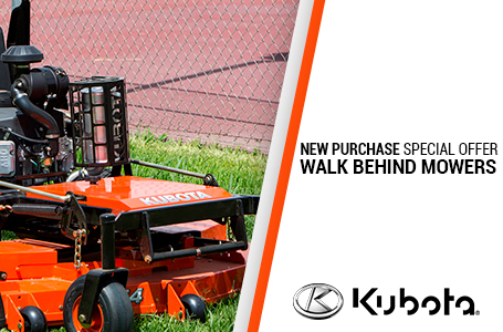 NEW PURCHASE SPECIALS-WALK BEHIND MOWERS