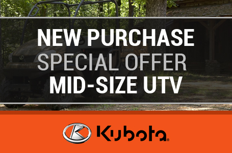 New Purchase Special Offer - Mid-Size UTV