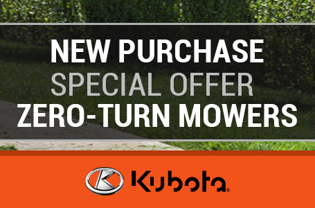 New Purchase Special Offer - Zero-Turn Mowers