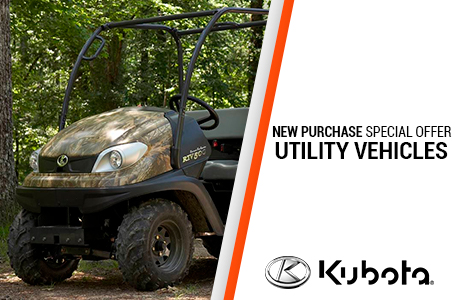 New Purchase Special Offers - Utility Vehicles