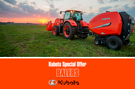 Kubota Special Offer - Balers