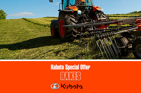 Kubota Special Offer - Rakes
