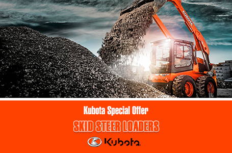Kubota Special Offer - Skid Steer Loaders