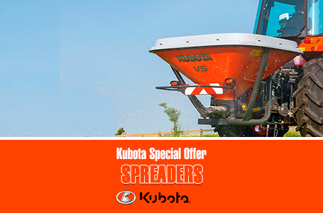 Kubota Special Offer - Spreaders