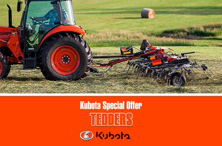 Kubota Special Offer - Tedders