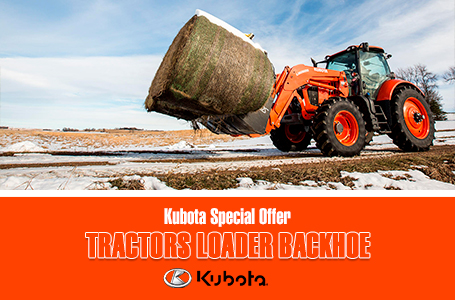 Kubota Special Offer - Tractors Agriculture