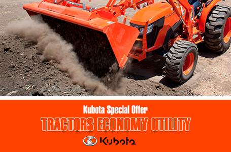 Kubota Special Offer - Tractors Economy Utility