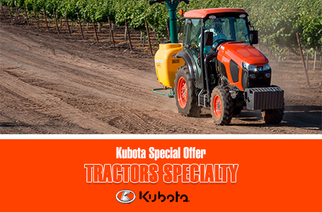 Kubota Special Offer - Tractors Specialty