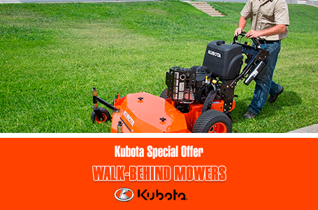 Kubota Special Offer - Walk-Behind Mowers