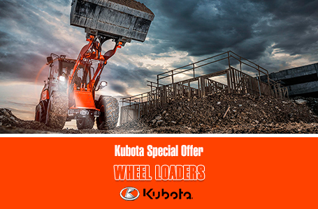 Kubota Special Offer - Wheel Loaders