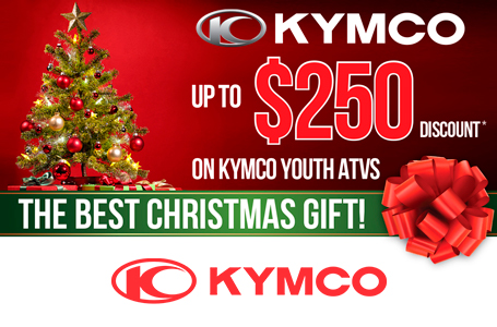 KYMCO Christmas Gift - Youth ATVs