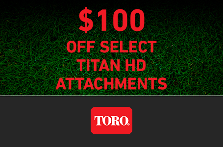 LS - $100 Off TITAN HD Attachments select Models