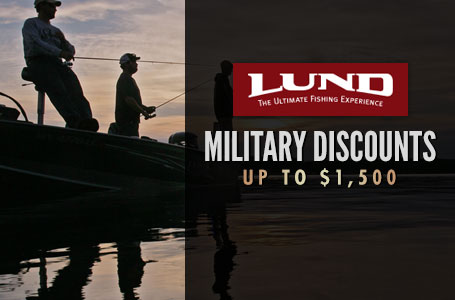 Military Discounts up to $1,500