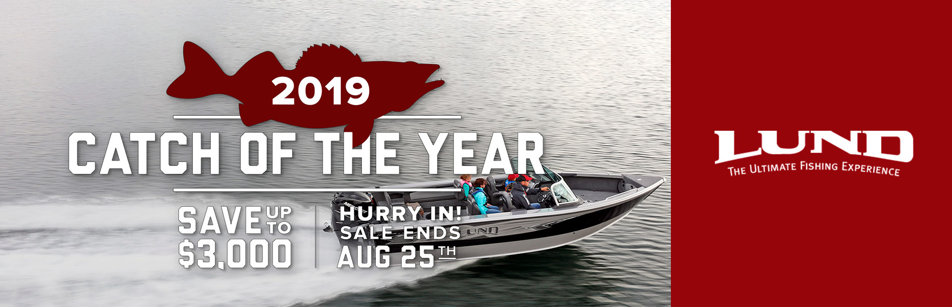 Lund - 2019 Catch Of The Year Ray's Sport & Marine Grand