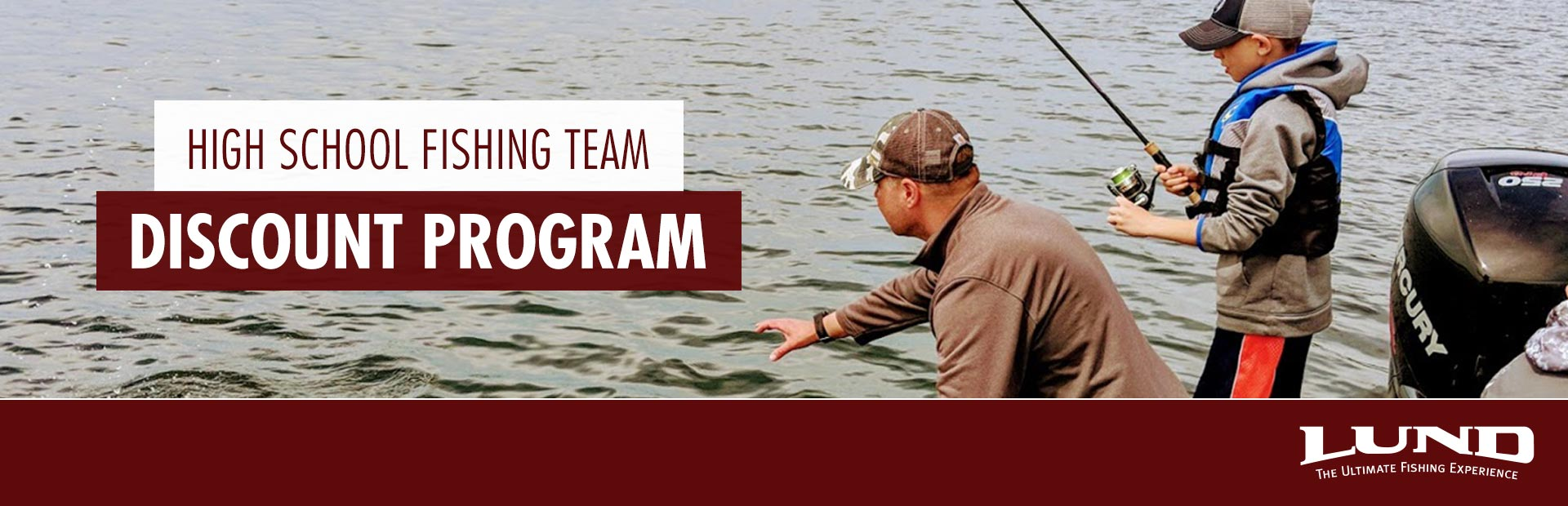 Lund: High School Fishing Team Discount Program