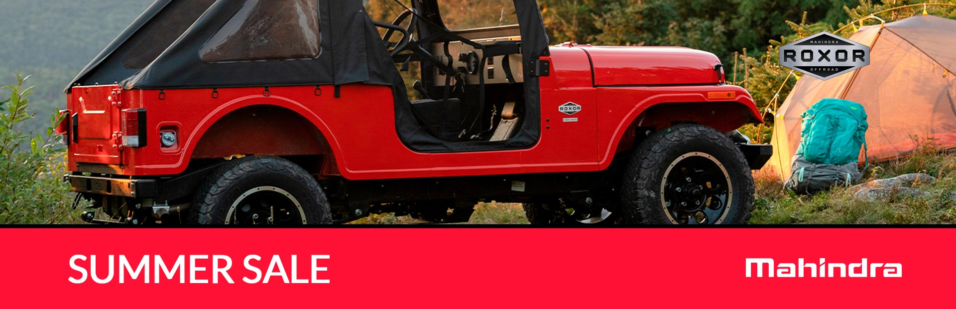 Mahindra: SUMMER SALE