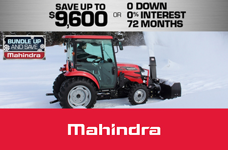 Mahindra Special Offers