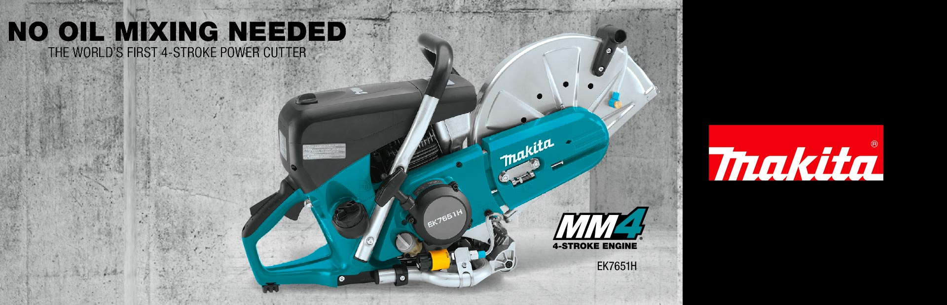 Makita: No Oil Mixing Needed
