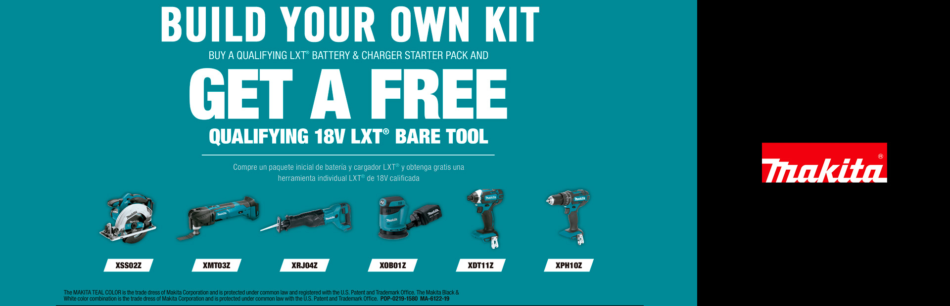 Makita: Build Your Own Kit