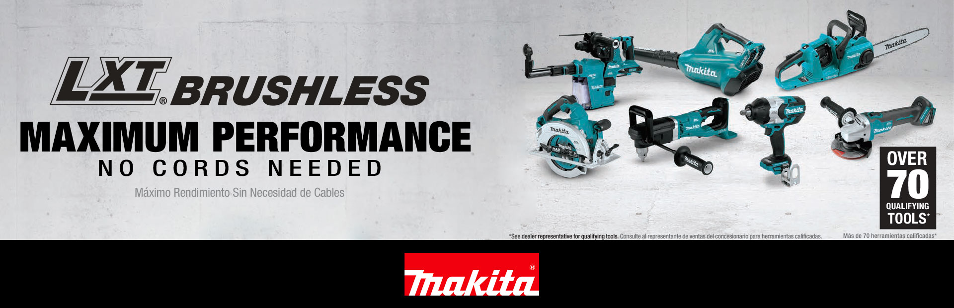 Makita: Maximum Performance No Cords Needed