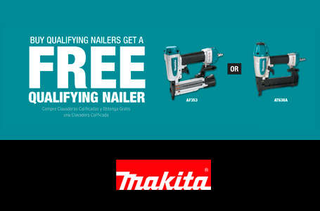 BUY QUALIFYING NAILERS AND GET A FREE NAILER