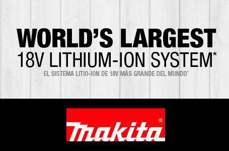 World's Largest 18v Lithium-Ion System