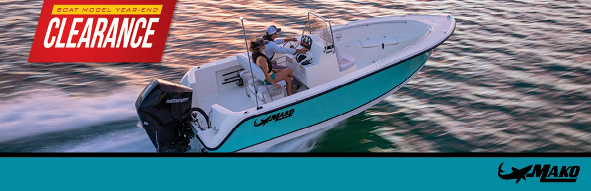 Mako: Boat Model Year-End Clearence