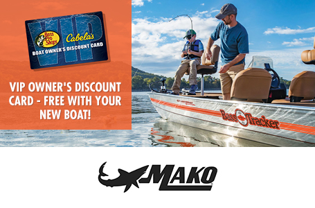 Bass Pro/Cabela's VIP Card w/ Mako Purchase