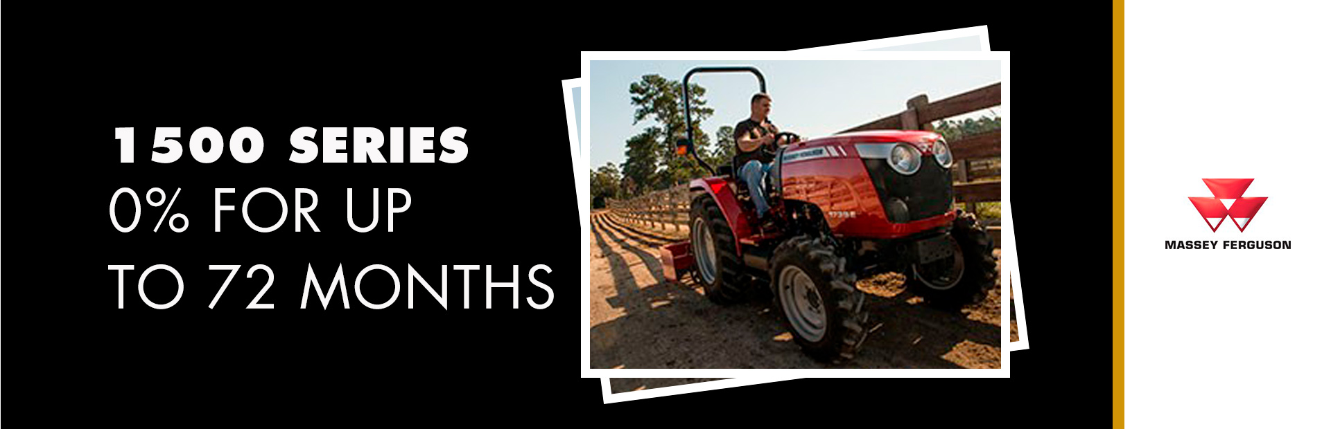 Massey Ferguson: 1500 Series Compact Tract - 0% for up to 72 Months