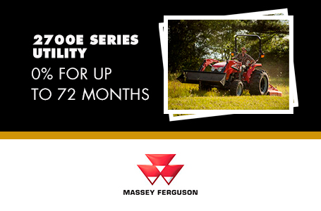 2700E Series Utility - 0% for up to 72 Months