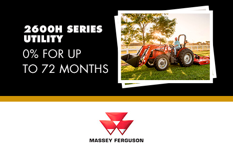 2600H Series Utility - 0% for up to 72 Months