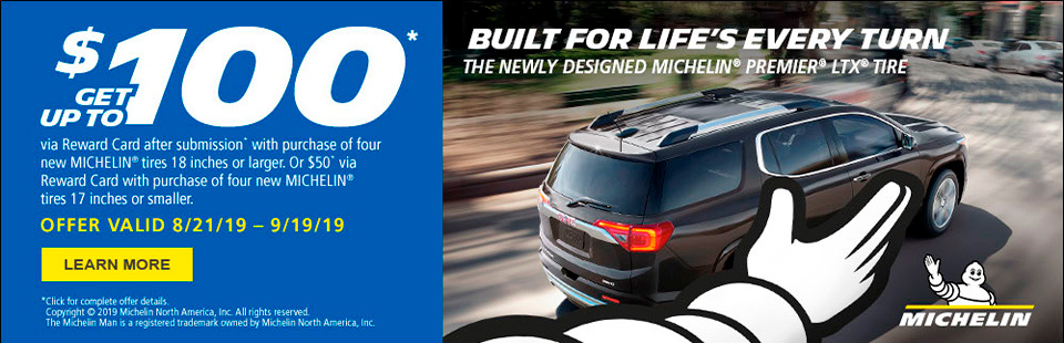 Michelin® Tires, BFGoodrich® Tires, Uniroyal® Tires & Auto