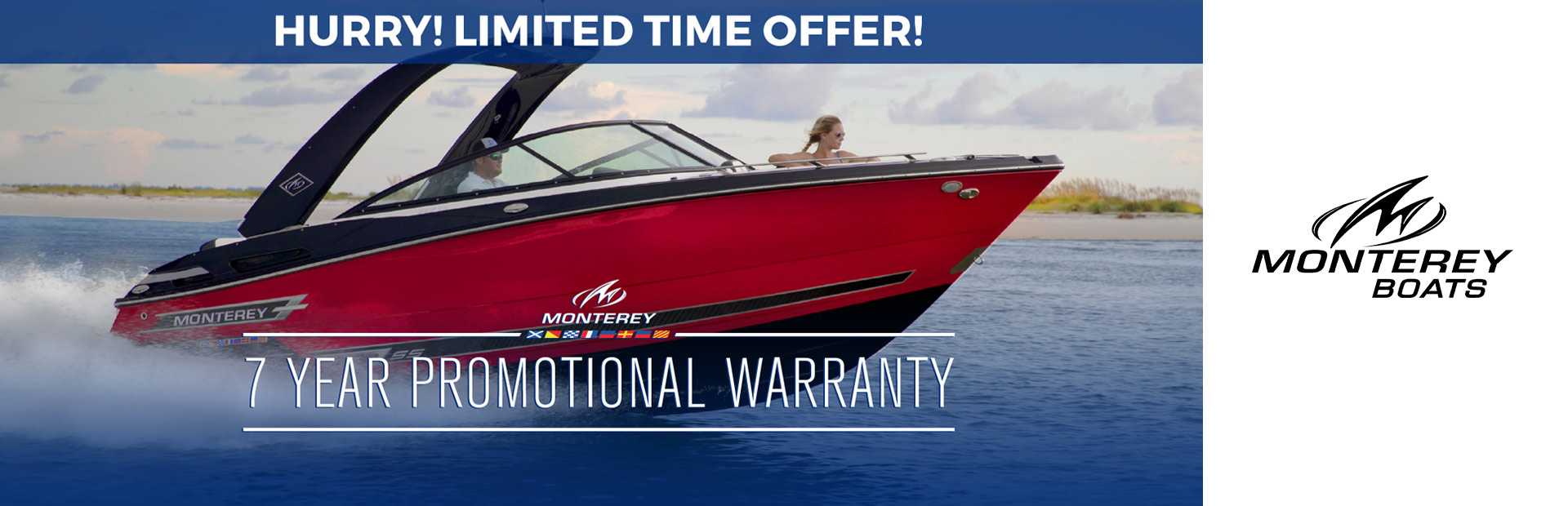 Monterey: 7 Year Promotional Warranty