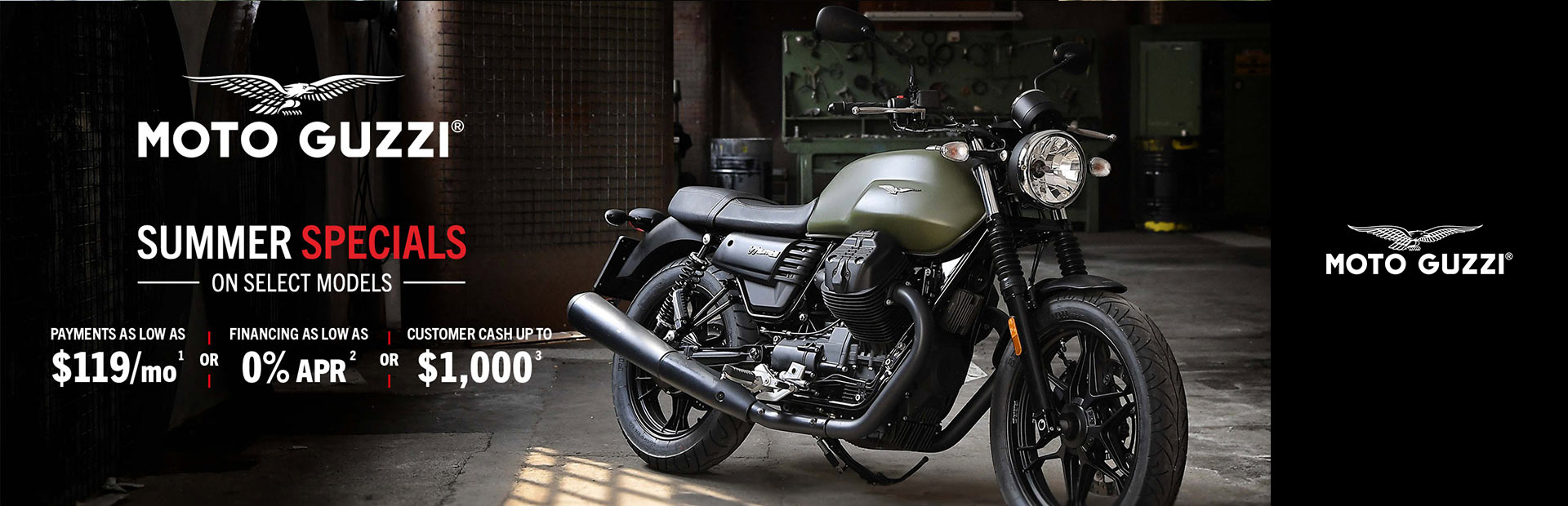 Moto Guzzi: Summer Specials