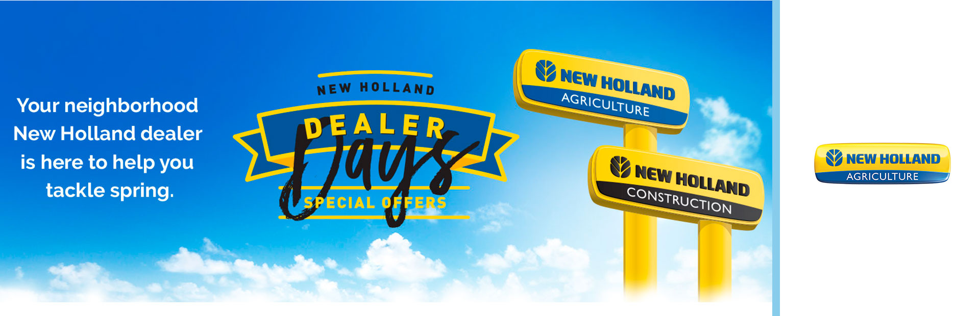 New Holland Construction: New Holland Dealer Days