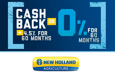 Cash Back PLUS 4.5% for 60 Months OR 0% for 60 Mon