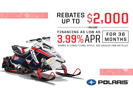 Polaris Factory Authorized Clearance Event - Snow