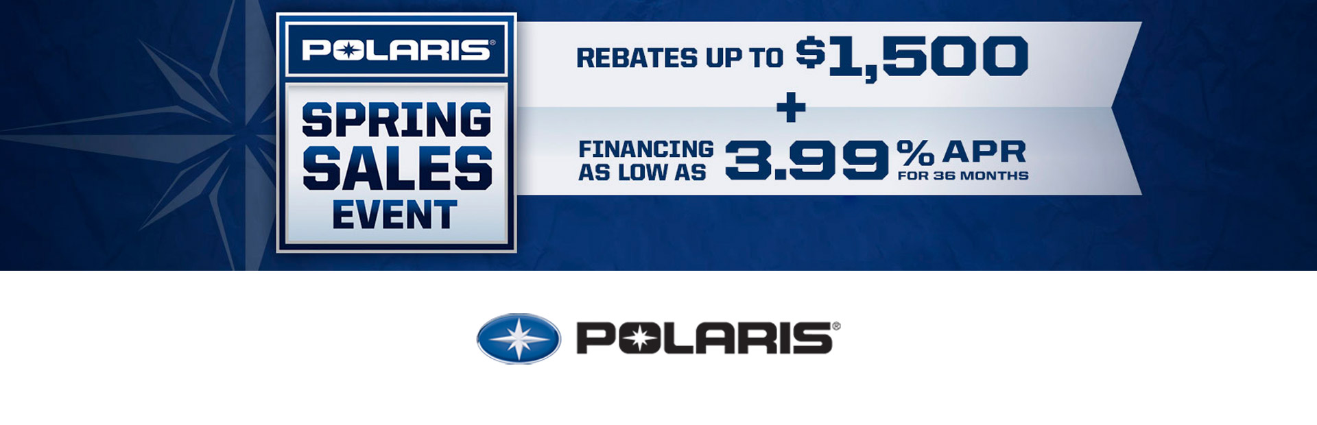 Polaris Industries: Spring Sales Event