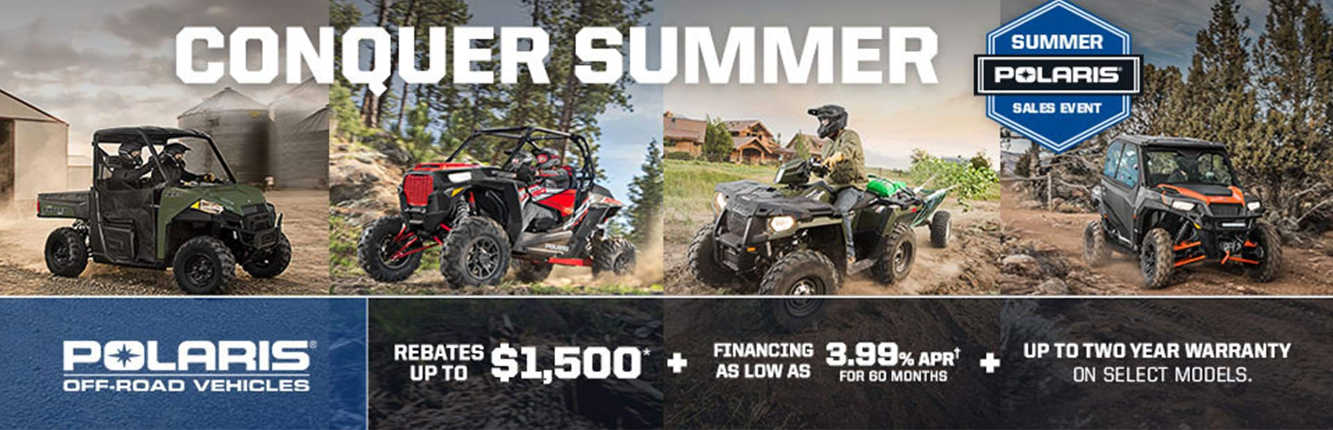 Polaris Industries: Polaris Summer Sales Event - Off-Road