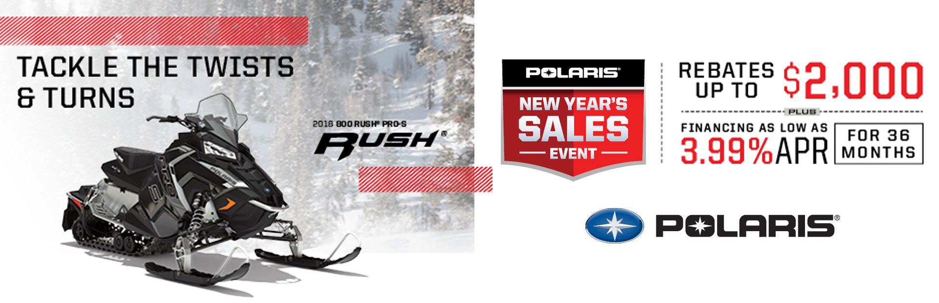 Polaris Industries: New Year's Sales Event (Snow)
