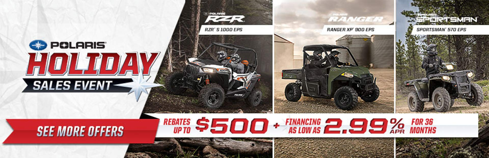 Image result for holiday sales event polaris