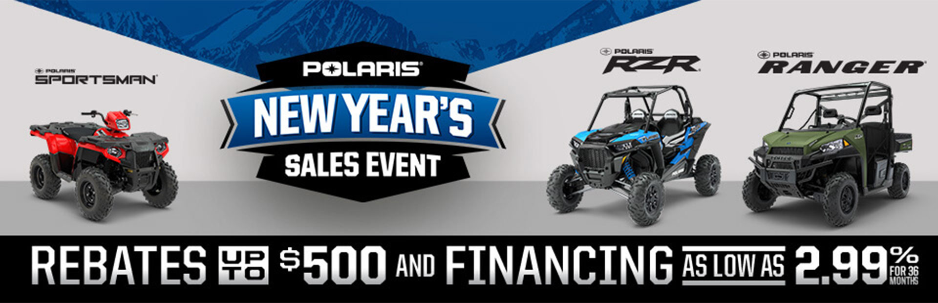 Polaris Industries: New Year's Sales Event (Off-Road)