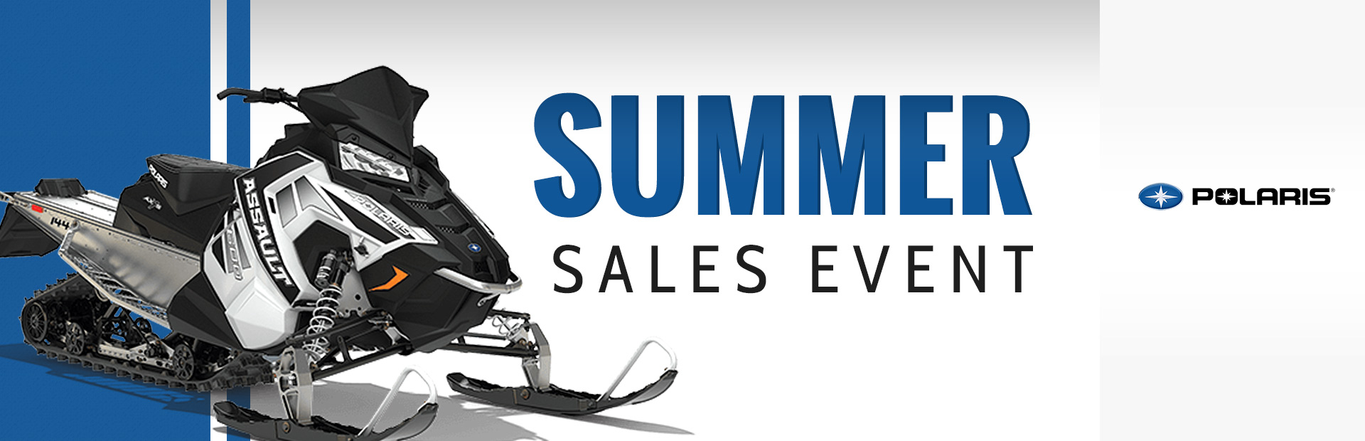 Polaris Industries: Summer Sales Event- Snowmobiles