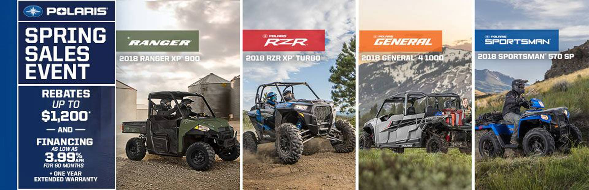 Polaris Industries: Polaris Spring Sales Event (Off-Road)
