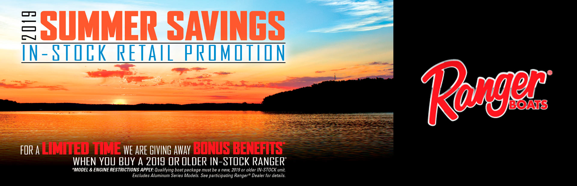 Ranger: 2019 SUMMER SAVINGS