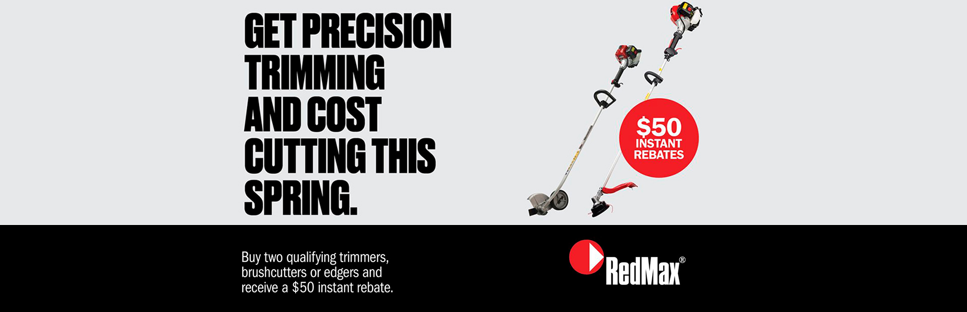 RedMax: Line Trimmer Rebate Promo
