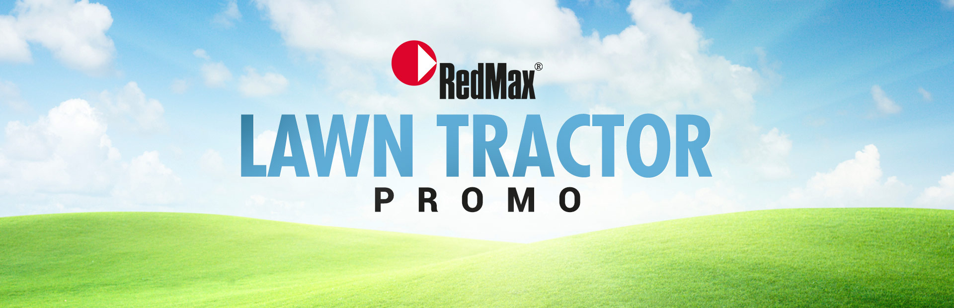 RedMax: Lawn Tractor Promo